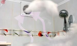 Решаем проблему вентиляции в ванной и туалете