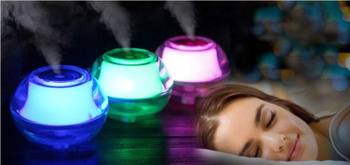 Увлажнитель, как источник здорового сна.