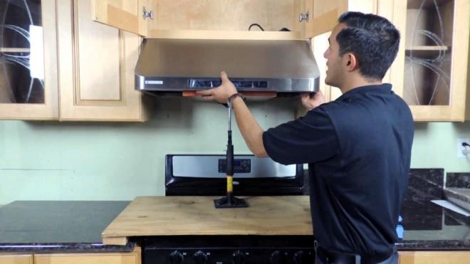 Пошаговое руководство монтажа кухонной вытяжки