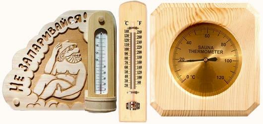 Термометр для измерения температуры в парилке