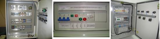 Щиты управления вентиляцией