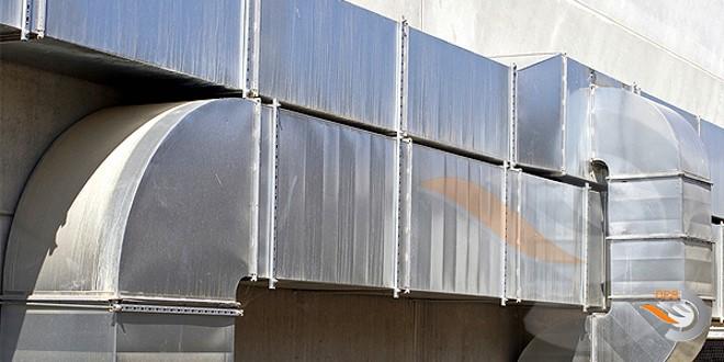 Применение металлических каналов вентиляции