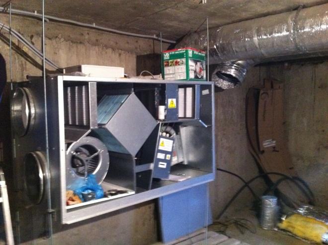 Рекуператор позволяет сократить затраты на обогрев приточного воздуха