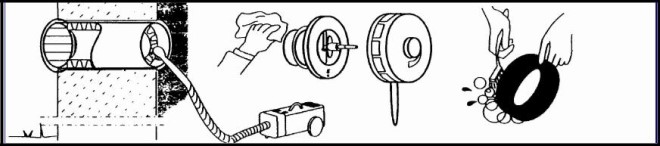 Процесс чистки клапана