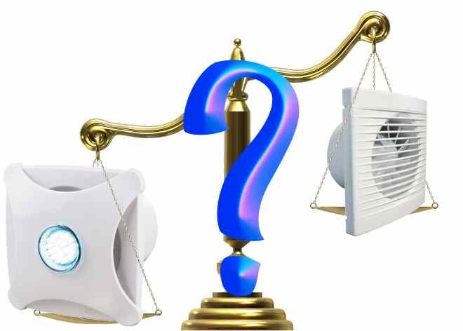 Выбор вентилятора для санузла