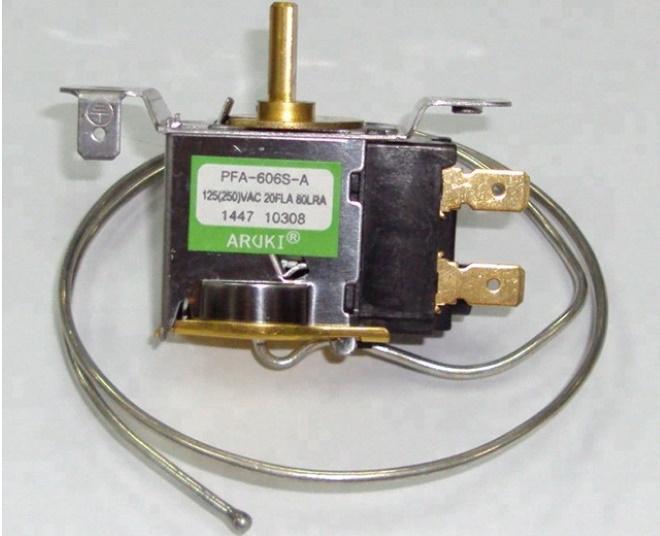 Пример термостата автокондиционера