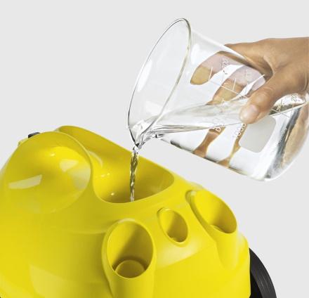 Заправка воды в парогенератор