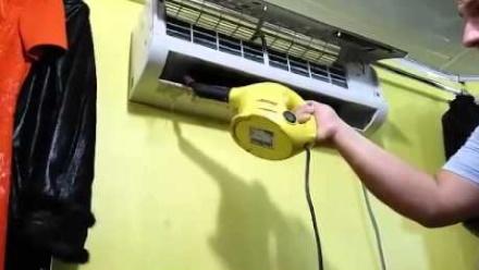 Этап чистки парогенератором